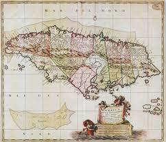 Map Of Kingston Jamaica Jamaica Maps Prints Photographs Ephemera Pennymead Com
