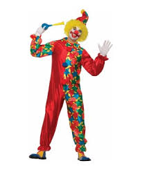 Mens Clown Halloween Costumes Classic Clown Men Costume Clown Costumes 2017