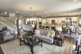 cute open concept living room with additional interior home paint