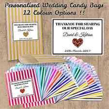 Personalized Cotton Candy Bags Wedding Favour Bags Ebay