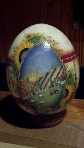 painted ostrich eggs the most beautifully decorated ostrich eggs by south