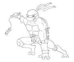 teenage mutant ninja turtle coloring coloring