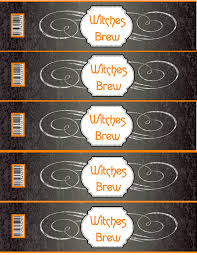 halloween lables halloween printable water bottle labels u2013 fun for halloween