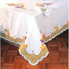 beautiful table cloth design buy designer table cloth from ideal textiles india id 978847