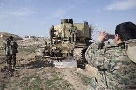 Kurds Discovered An Isis Tank And Did Something Awesome To by The Kurds Are Close To Mosul U2014and In No Hurry To Get There