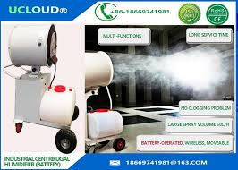 battery operated misting fan operated industrial misting fans portable centrifugal water misting fan