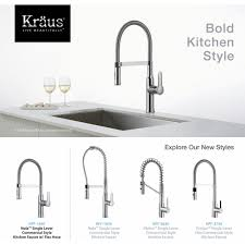 kraus kpf 1640ss nola stainless steel pro pre rinse units kitchen