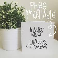 free printable mother u0027s day card edition u2014 rad u0026 happy