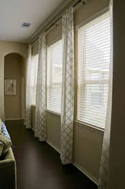 Windows Curtains by Curtain Ideas Long Windows Two Window Curtains Sheer Window Panel