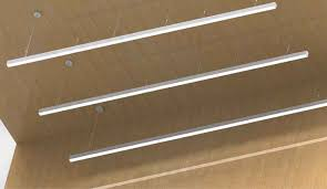 suspended linear light fixtures wonderful 2 suspension linear led light bar led hanging linear