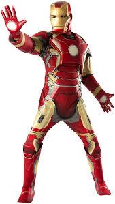 Thor Halloween Costumes Amazon Iron Man Mark 43 Marvel Men Costume Multi Standard