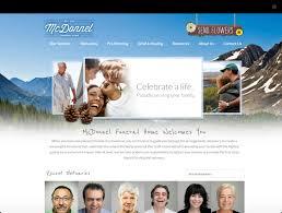 funeral home website design gooosen com