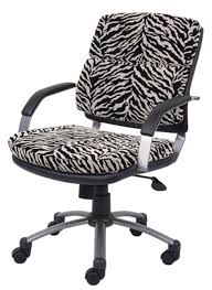 Zebra Print Desk Chair Zebra Print Desk Chair Dining Chairs
