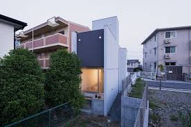 modern narrow house modern and minimalist house built on narrow site promenade house