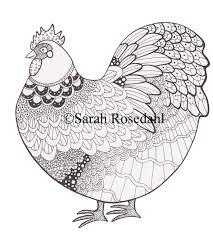 chicken books u0026 chicken art sarah rosedahl u0027s art