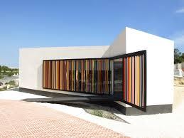 home architecture design sles sales and management office for sol de rojales housing development