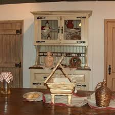 buffet vaisselier cuisine vaisselier de cuisine 2 corps bois et laque