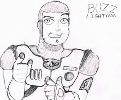 disney autograph art challenge buzz lightyear by burgerdannyw on