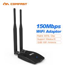 Usb Wifi Adapter For Faster Wifi Usb Wifi Range Comfast Usb Wifi Adapters 150m Wireless Card
