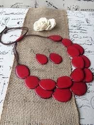 red fashion necklace images Red necklace archives galapagos tagua jewelry jpg