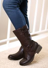 biker riding boots for real or wannabe biker the bare traps harly mid u2011calf