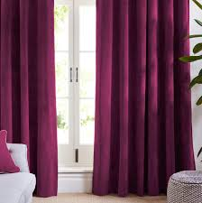 Pink Velvet Curtains Pink Velvet Curtains Blackout Curtains Koikaa