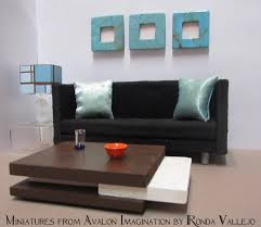Dollhouse Modern Furniture by 986 Best Modern Miniatures Images On Pinterest Dollhouses