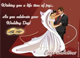 wedding message for a friend wishing you a time of as you celebrate you wedding day