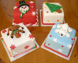 mini christmas cake decorating ideas u2013 decoration image idea