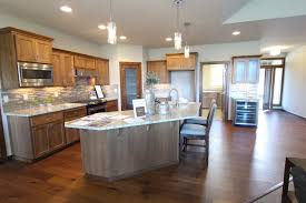 Microwave In Island In Kitchen Affordable Custom Cabinets Showroom