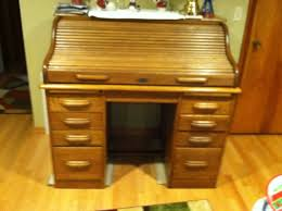 oak roll top desk my antique furniture collection