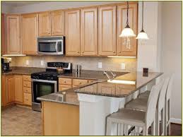Kitchen Paint Colors With Maple Cabinets by Kitchen Granite Countertops With Dark Cabinets Kitchen