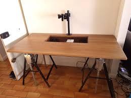 boitier ordinateur de bureau pc bureau sur mesure 4 avec un magnifique ordinateur int gr dans