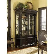 curio cabinet living room corners rooms best amish curio
