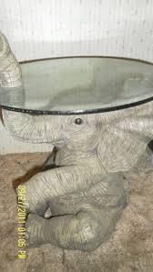 elephant end tables ceramic free ceramic elephant glass top end table decorative so unique