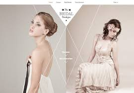 bridal websites 17 badass websites all started from the same bridal template