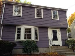 please advise on front door and shutter colors for our plum grey house