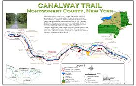 New York Counties Map Montgomery County Ny