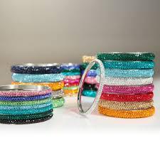 stainless steel crystal bangle bracelet images 96 best love bangles images bangle bracelets jpg