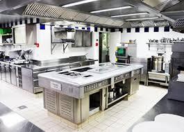extracteur d air cuisine professionnelle cuisine collective cellule de refroidissement congélation hotte