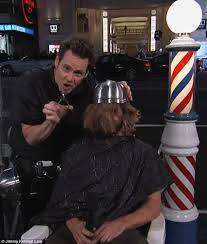 forced female haircuts on men jim carrey leaves fan bald after dumb and dumber to haircut stunt