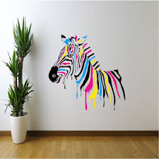 personalized zebra print lovely wall decals home design zebra wall decals fresh