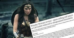 apparently the wonder woman movie isn u0027t feminist enough