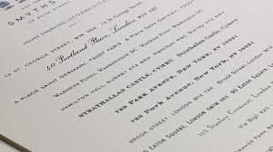 picture and writing paper personalised stationery smythson lettering styles