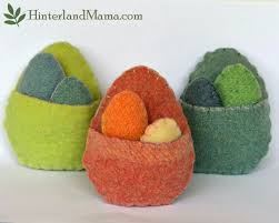 hinterland mama egg pouch softie original easter crafts by