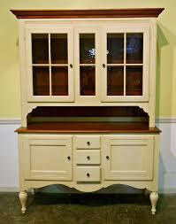 ethan allen painted furniture ethan allen maple u0026 painted hutch