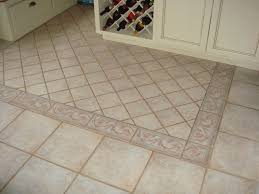Flooring For Kitchen by Kitchen White Kitchen Stone Floor Ideas With Multiple Shape