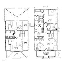 two story small house floor plans decoration modern small two story house plans