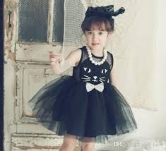 best quality girls korean lace tulle vest dresses princess summer