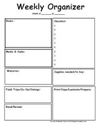 best 25 blank lesson plan template ideas on pinterest lesson